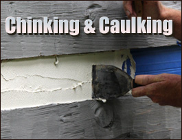Chinking And Caulking  Carroll County, Ohio