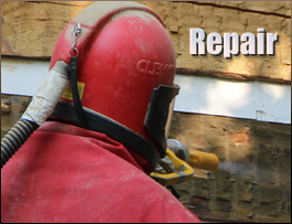 Log Home Repair  Carroll County, Ohio